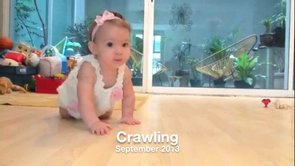 2013 09 24 Alex is Crawling!
