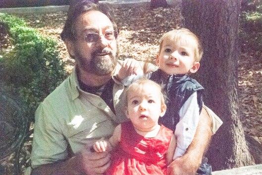 2013 11 22 Sitting with Grandpa Arled-1
