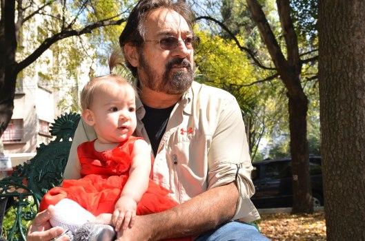 2013 11 22 Sitting with Grandpa Arled-11