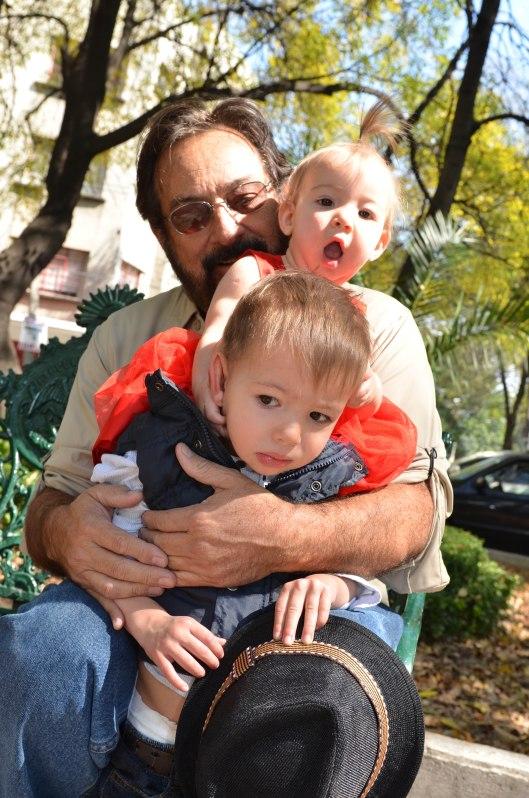 2013 11 22 Sitting with Grandpa Arled-9
