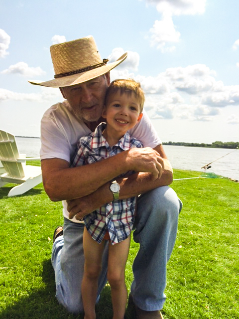 2014 07 17 Fishing with Grandpa Gene-1